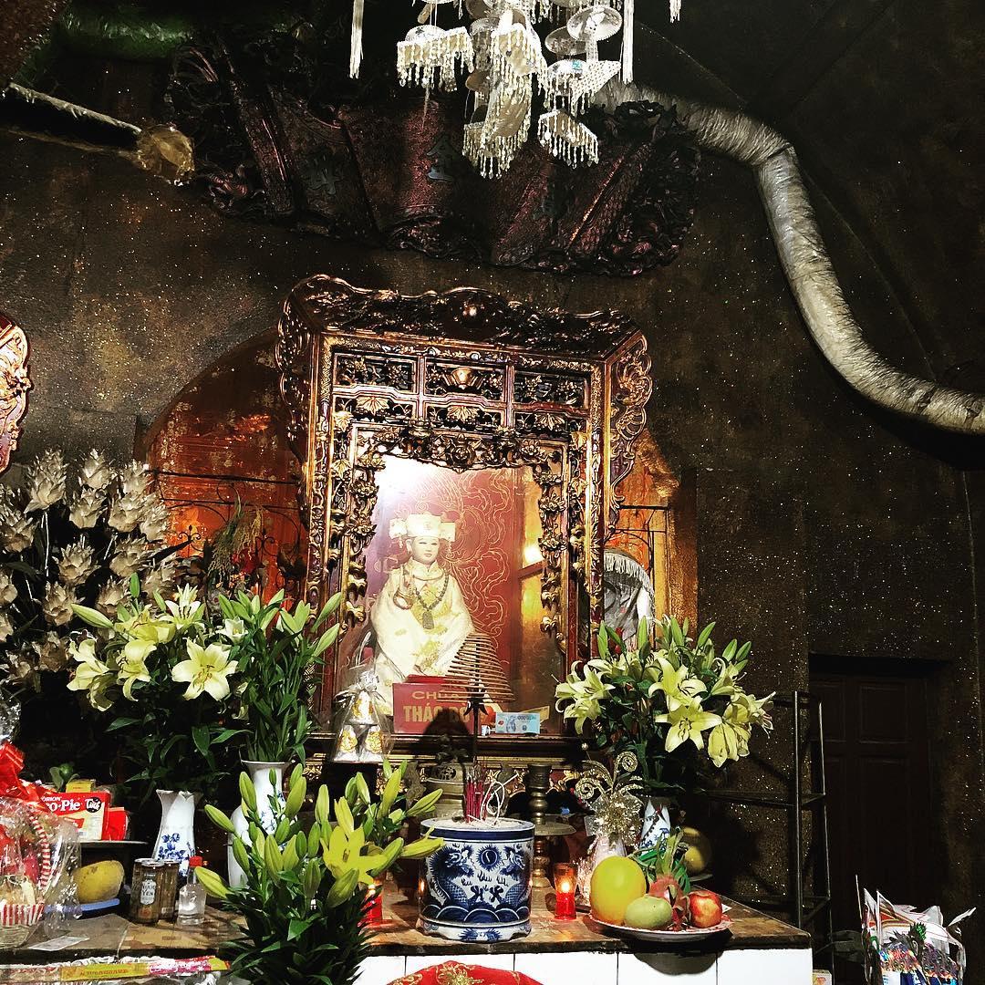 Chúa Thác Bờ là hai Bà Đinh Thị Vân và một bà người Dao ở Vầy Nưa