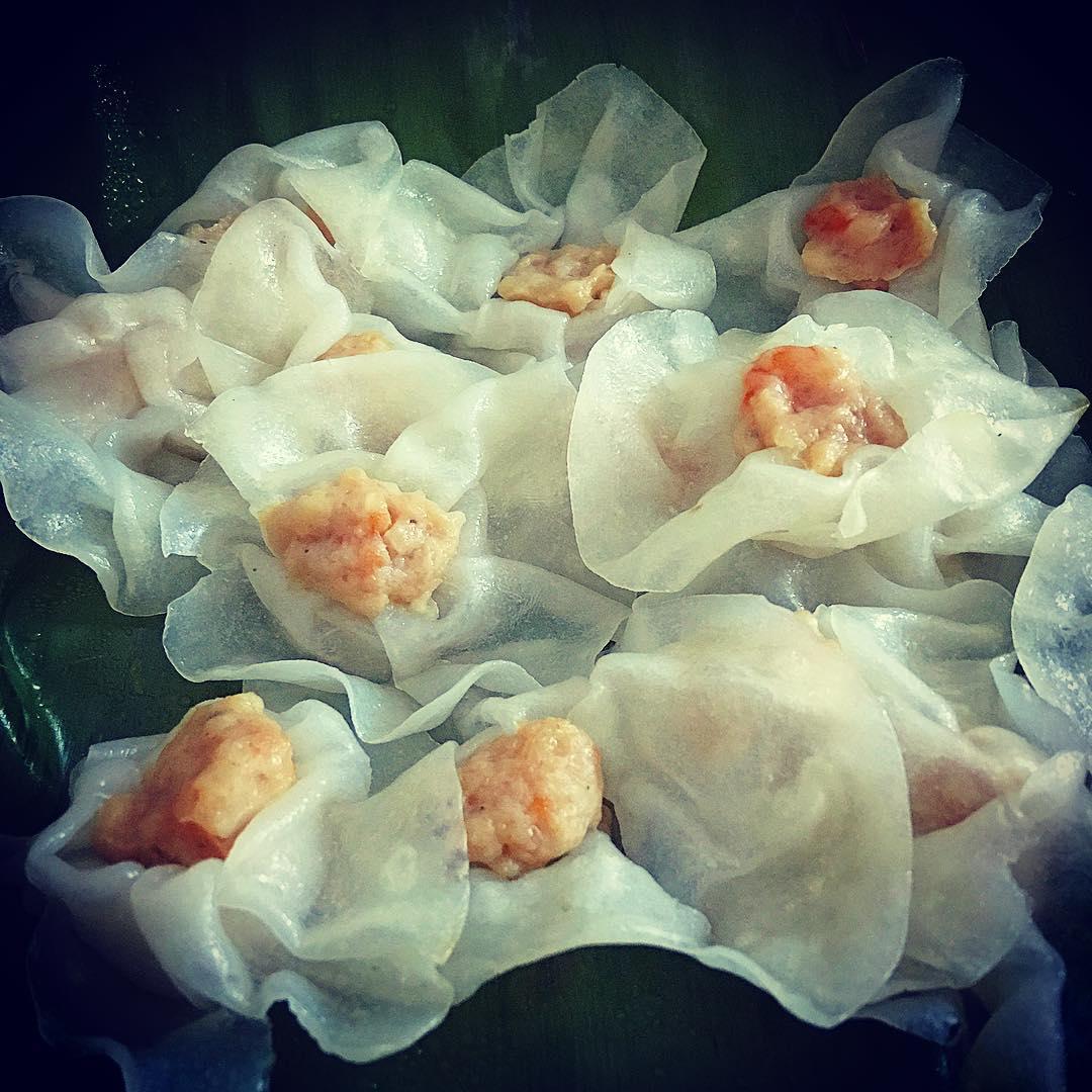 Bánh bao bánh vạc Hội An – loại bánh đẹp tinh tế, thuần khiết như hoa hồng  trắng