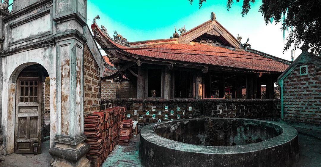 Nét cổ kính của làng Đường Lâm