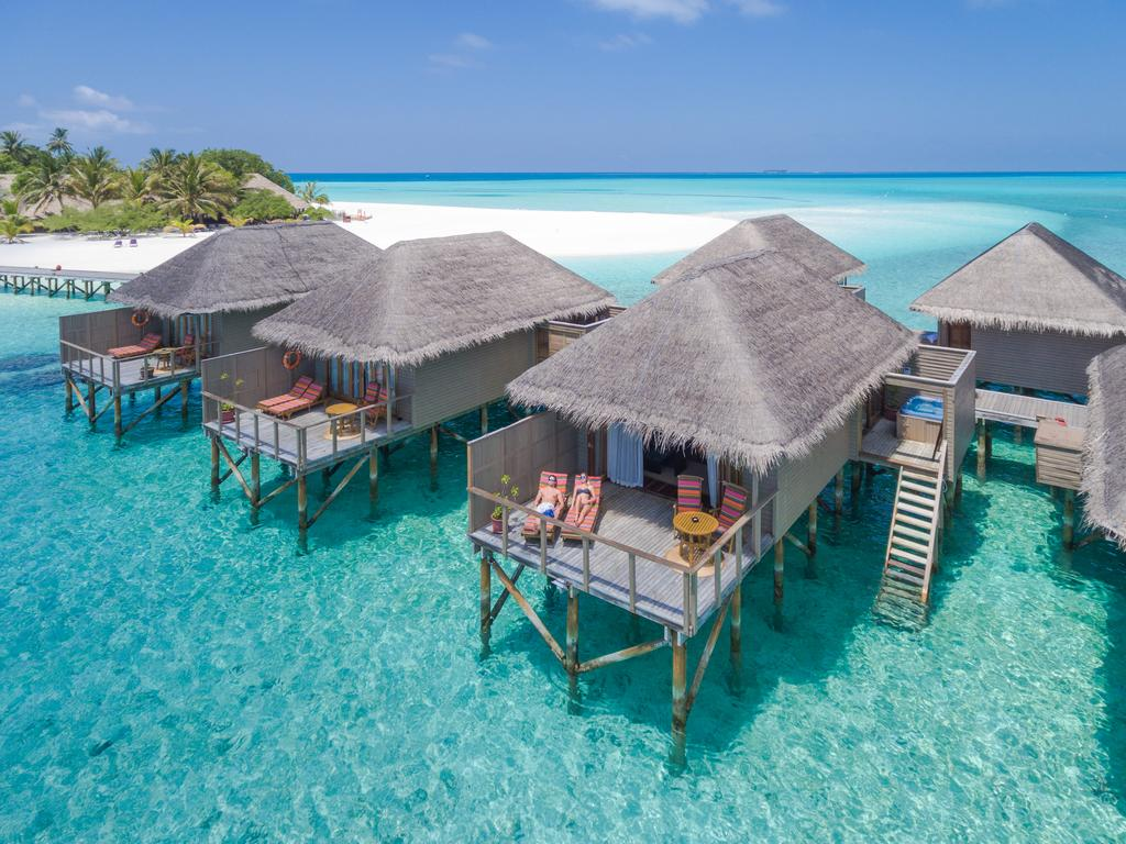 Resort ở Maldives