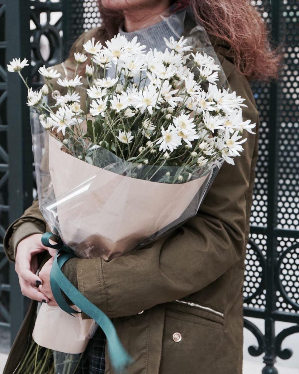 Kết quả hình ảnh cho bó hoa cúc họa mi