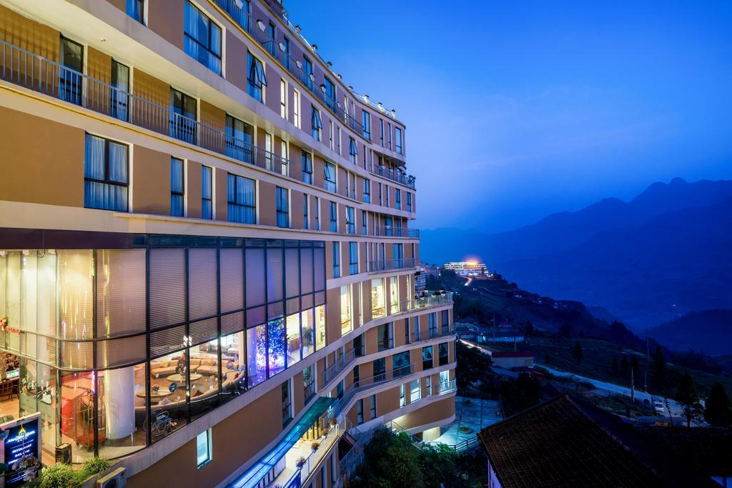 Amazing Sapa được thiết kế sang trọng theo kiến trúc châu Âu