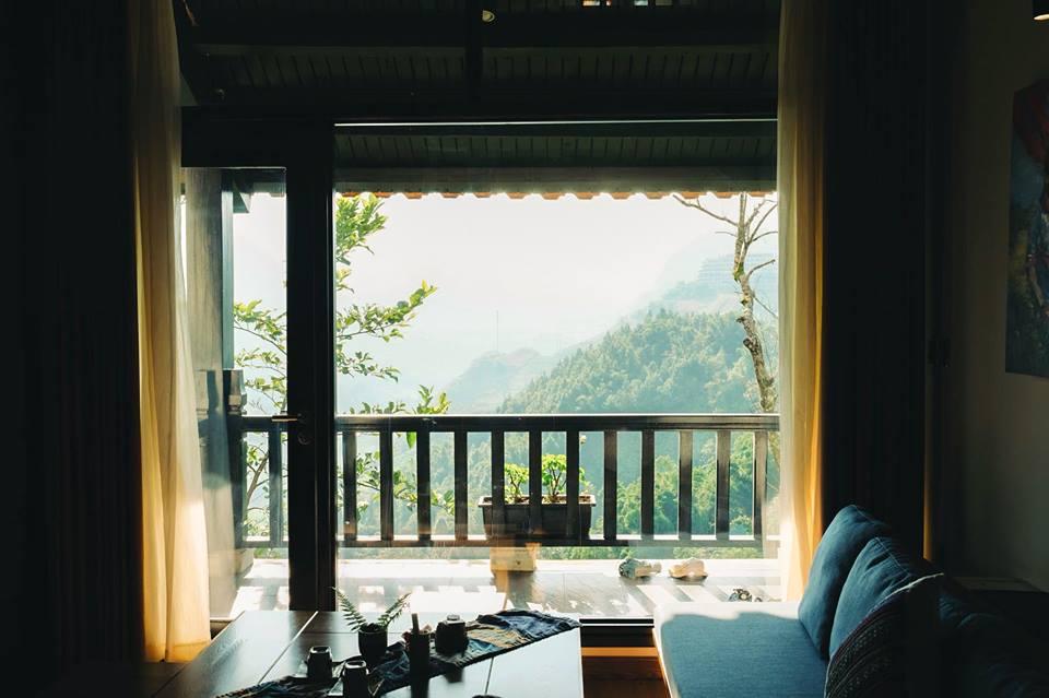 Khoảng view sống ảo cực đẹp ởSapa Jade Hill Resort