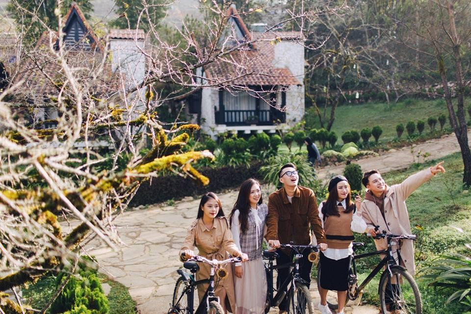 Những hình ảnh đẹp của khách lưu trú chụp tạiSapa Jade Hill Resort