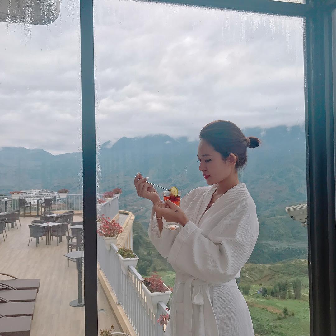 Hình đẹp của khách lưu trú chụp tại Amazing Sapa
