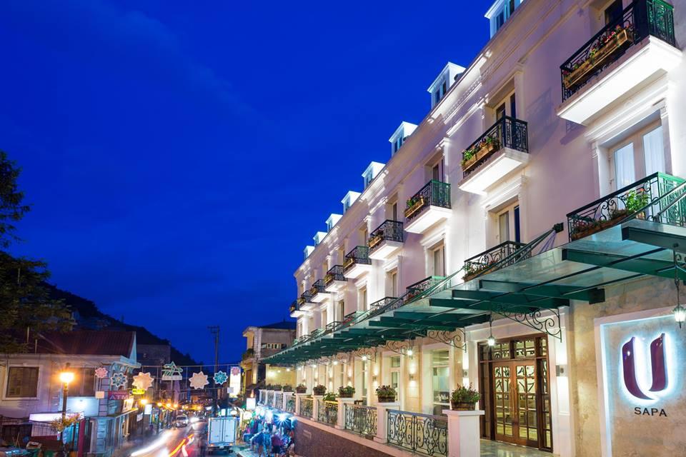 U Sapa Hotel tọa lạc tại vị trí rất đắc địa tại Sa Pa