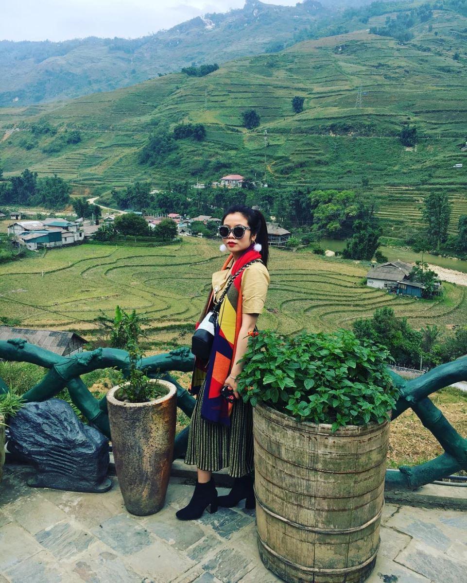 Hình ảnh thung lũng Mường Hoa qua ống kính của khách du lịch