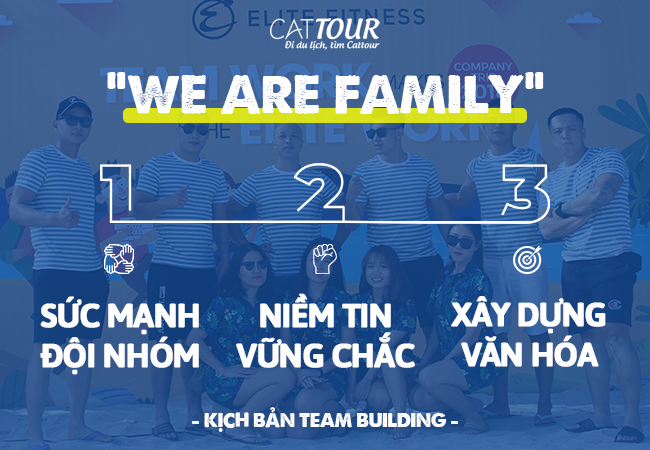 Nội dung kịch bản Team Building We Are Family