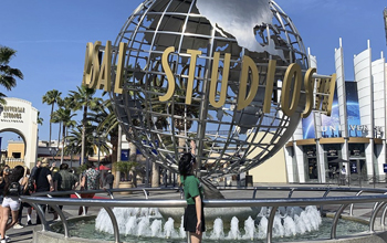 Check in ở Universal Studio tại Hollywood