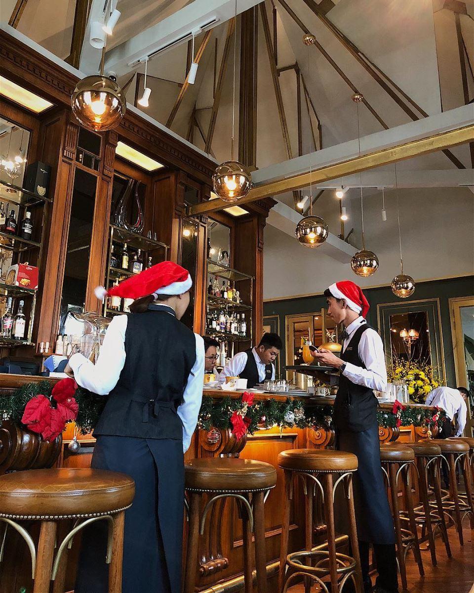 Không khí Giáng Sinh ở Runam Cafe lúc nào cũng rất nhộn nhịp và ấm áp