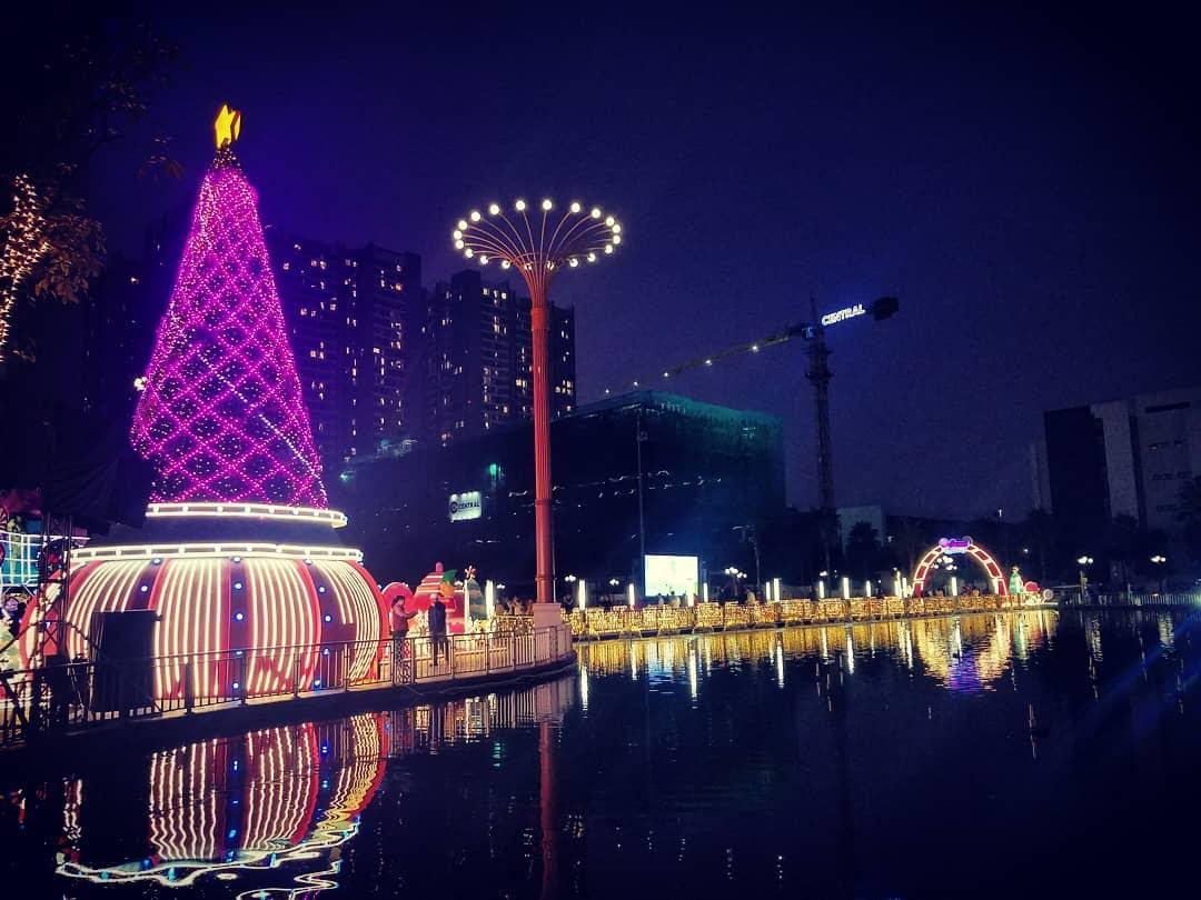 Times City năm nào cũng là điểm đến thu hút nhất ở Hà Nội dịp Noel