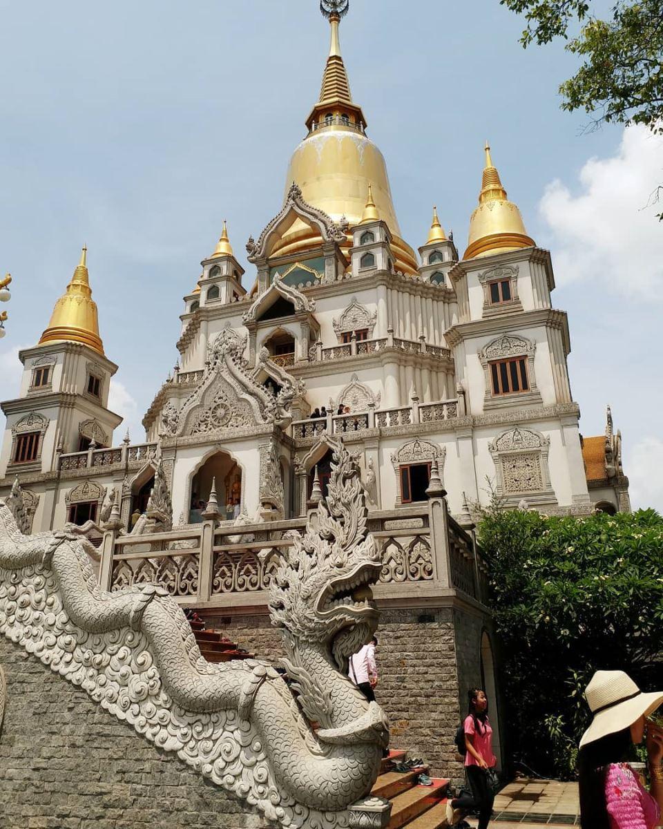 Chùa Bửu Long có kiến trúc vô cùng độc đáo