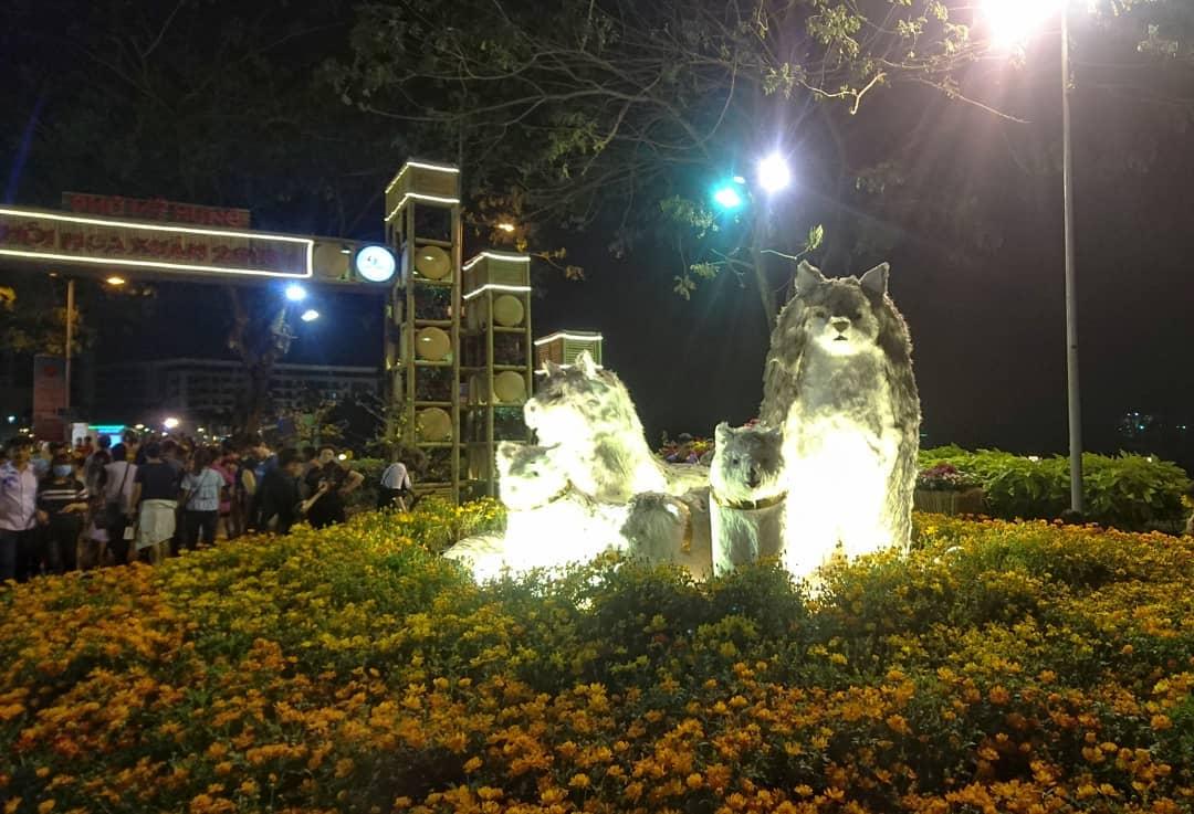 Lễ hội hoa xuân Phú Mỹ Hưng