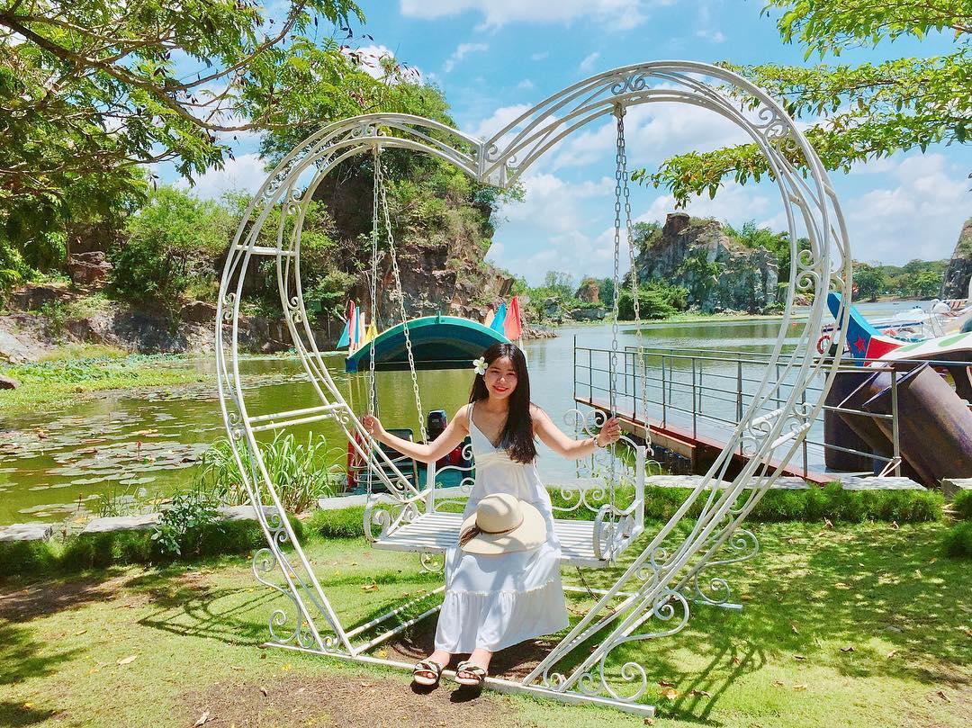 1001 góc chụp thần thánh ở khu du lịch Bửu Long